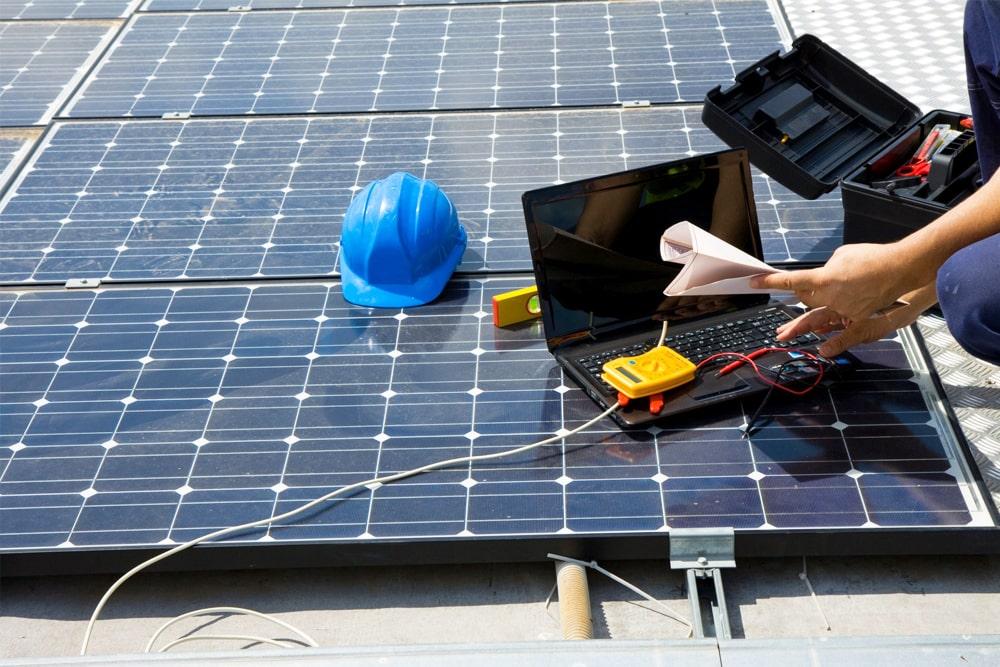 Optymalizator mocy paneli słonecznych