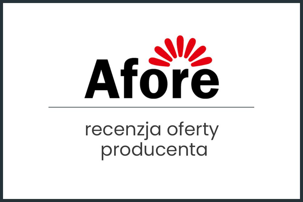 Falowniki Afore - recenzja i opinie
