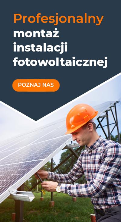 Profesjonalny montaż instalacji fotowoltaicznej Gdańsk, Sopot, Gdynia, Trójmiasto